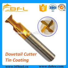 BFL Carbide Swallow Tailed Cutters,Solid Carbide Dove Tail Mill Cutters