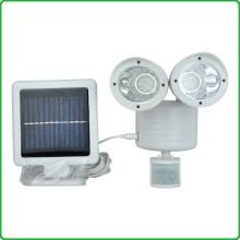 Hot sell LED Solar Sensor Ultrasonic Spotlight/22pcs LED