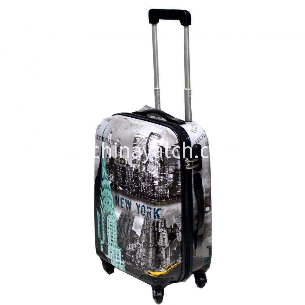 Available Fashion Printing ABS&PC Luggage Set