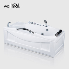 EverClean Corner Whirlpool Tub dengan Deck