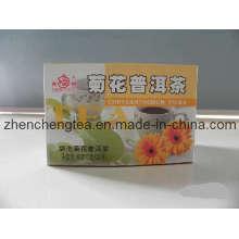 Saveur de thé, thé Puer chrysanthème