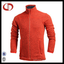 High Quality Fleece Man′s Winter Jacket with Full Zipper