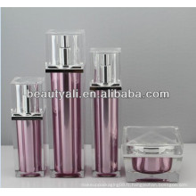 30ml bouteilles de cosmétiques à air carré de luxe de 50ml