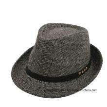 Мода для мужчин Fedora Войлок Hat Оптовая