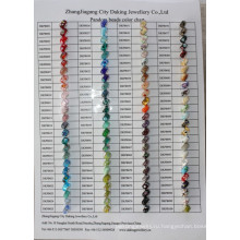 Диаграмма цвета прикуривания ювелирных изделий Pandora