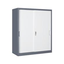 Soluções de armazenamento em fábrica de armários em aço de meia altura