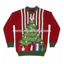 PK17ST202 Unisex Leuchten die Nacht Weihnachten Pullover Jumper