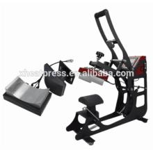 Alibaba top sale Auto open baseball cap heat press printing machine