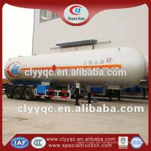 3 axle 60m3 lpg semi trailer tanker zu verkaufen
