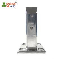 2021 New Year hunting series stainless steel pool column  glass spigot  mirror  or sanding clip 12mm toughened glass