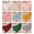 TINGYU Wholesale Muslim Malaysia Women Lady Girl Multi Color Hijab Scarf