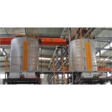 horno de endurecimiento vertical de aleación de aluminio