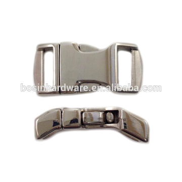 Мода высокого качества металла собака воротник стороне выпуска пряжки