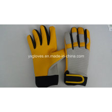 Mechanic Glove-Protective Glove-Leather Glove-Gloves-Working Leather Glove-Work Glove