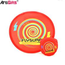 Nouveau produit jouets en plein air battant disque promotion tissu frisbee