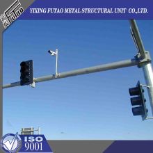 Hot Galvanized Steel Camera Poles