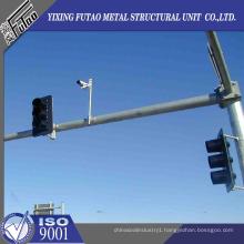 Galvanized Steel Road Traffic Pole