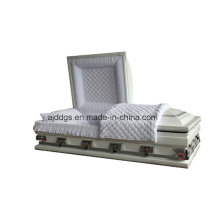Белые тени Шкатулка серебряная отделка (негабарит)