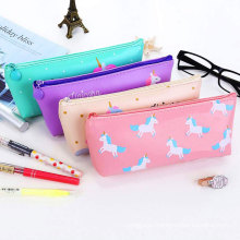 Custom Kids Stationery Storage Schools Pencil Pouch Pink For Girls Pen Bag Schools Pencil Case