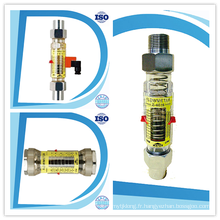 Alarme supérieure et inférieure horizontale Interrupteur Limiteur d'eau Rota Meter Débitmètre
