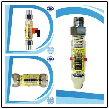 Medidor de fluxo horizontal do medidor da Rota da água do limite do interruptor do alarme superior e mais baixo