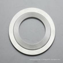 Joints crantés 316L d'acier inoxydable / joints de Kammprofile avec l'anneau extérieur