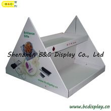 Counter Table Stands, Card Counter Display, Promotional Display Stand Reception Counter (B&C-C027)