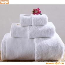16s White Border Hotel Towel Wholesale (DPF1017)