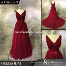 Dernier style de haute qualité avant court long retour 2016 robe de soirée