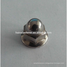 Hex Flange Cap Nuts With Serrated