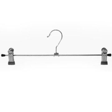 High Quality Trousers Hanger with PVC Clips