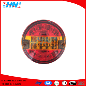 Hamburger Rear Round Tail Light 12V