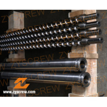 Plastic Recycle Machinery Bimetallic Single Screw (ZYE198)