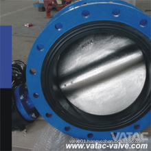 Electric/Pneumatic Operated Cast Iron/Ductile Iron Flange Butterfly Valve with Rubber Seated