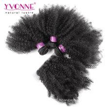 Cheveux vierges brésiliens de qualité supérieure avec fermeture