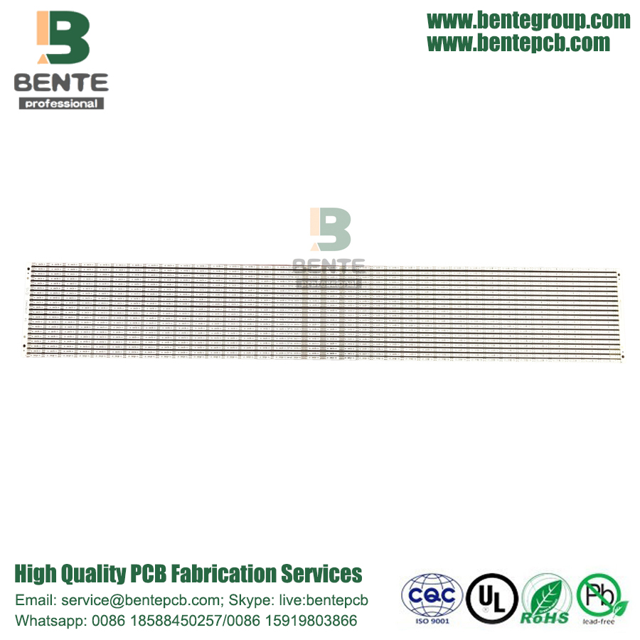 2Layers PCB FR4 Lage Kostbare PCB Long Strip