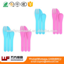 OEM Custom plastic cutlery mould/Custom design Disposable plastic cutlery mold/20 cavity plastic cutlery moulds
