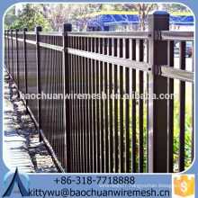 Best-selling Steel Fence/ hot sale Wrought Iron Fence