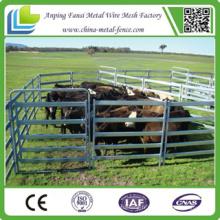 Panneaux de corral à bétail galvanisé à faible teneur en poids léger