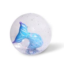 Pelota de playa de sirena 3D