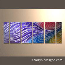 2014 Wholesale Abstract Metal Art