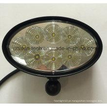 """12V-24V 6 """"Oval 40W CREE luz do trator do diodo emissor de luz"""
