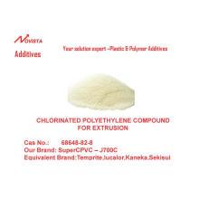 Cloruro de polivinilo clorado compuestos para extrusión