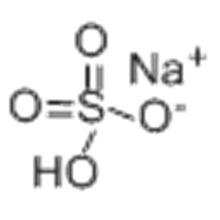 Bisulfate de sodium CAS 7681-38-1