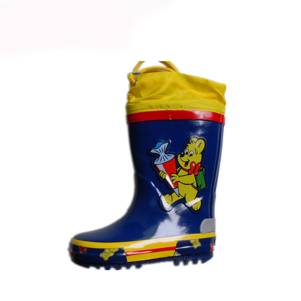 boy rubber boots