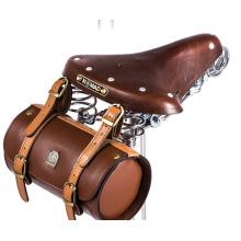 Weinlese-Zyklus-Fahrrad-Fahrrad-Beutel / Multipurpose Front- oder Rucksack-hintere Endstück-Schulter-Beutel Tweed-Lauf-Solute für Brooks