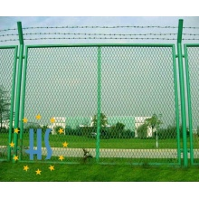 Plastic Coating Expanded Mesh Fence for Highway