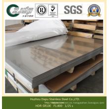 Fabricante ASTM 304 316 317 Tubería de placa de acero inoxidable