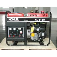 8kw Portable générateur d'essence à cadre ouvert