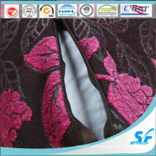 Polyester Embroider Cushion for Car Home Hotel Cushion Case with Zipper